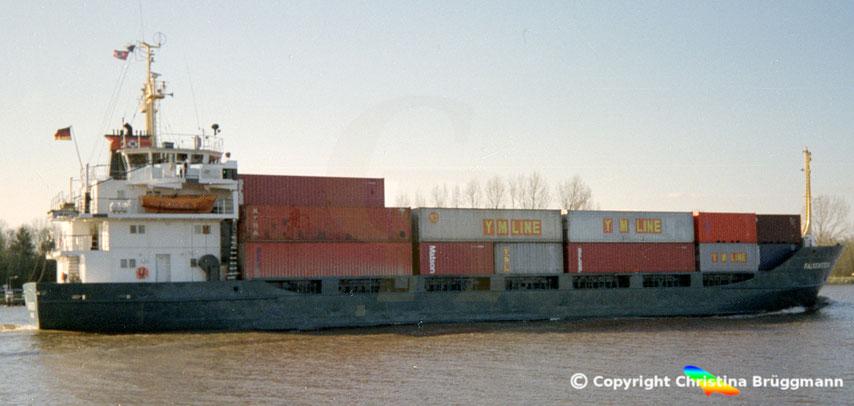 Feeder-Containerschiff FALKENSTEIN, Sietas Typ 95