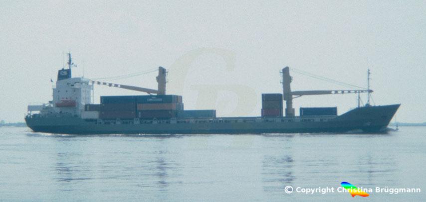Containerschiff CONTSHIP EUROPE, Rickermstyp RW 39