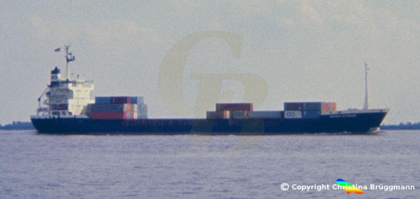 Container-Feederschiff, Sietas Typ 101, PETER OLTMANN