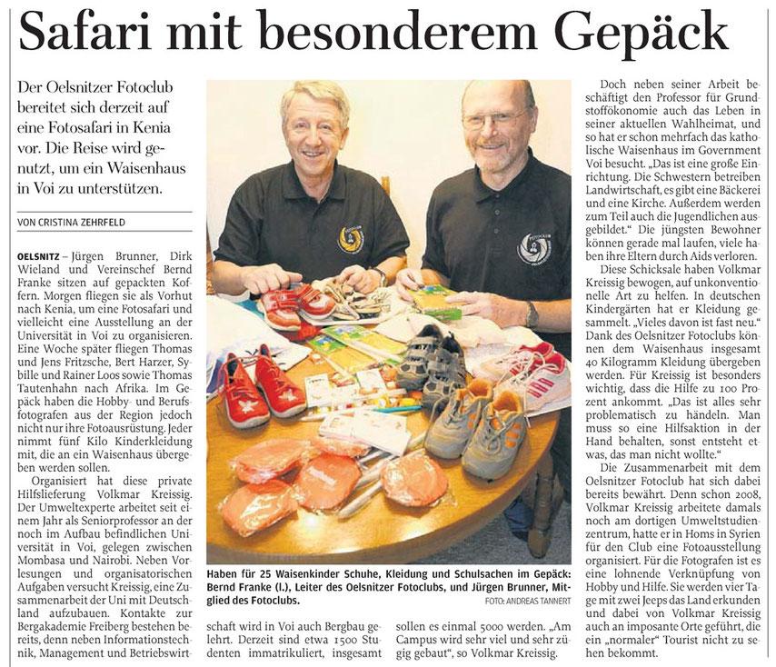Freie Presse Stollberg 16.01.2014