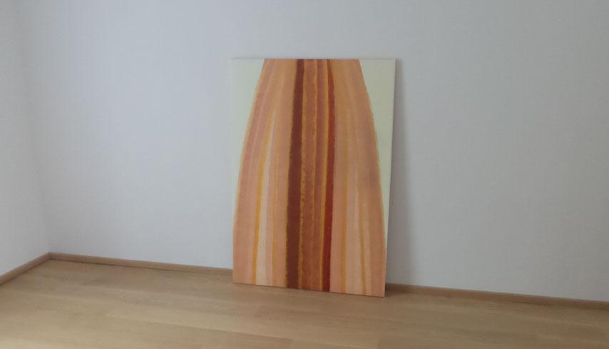 Gemälde Schutzschirm in Kupferrosa by Then
