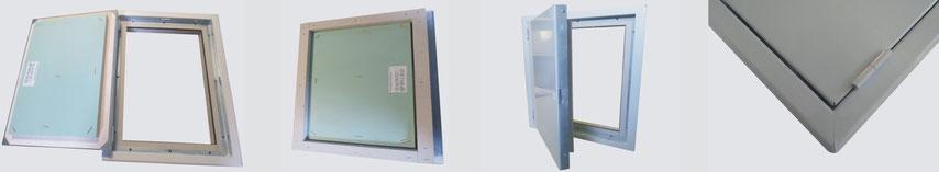 Heika-Flame Solid pour murs massifs et gaines techniques