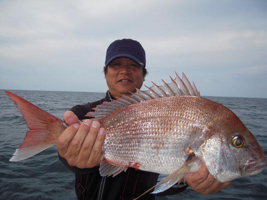 一年ぶり日本海 めで鯛!