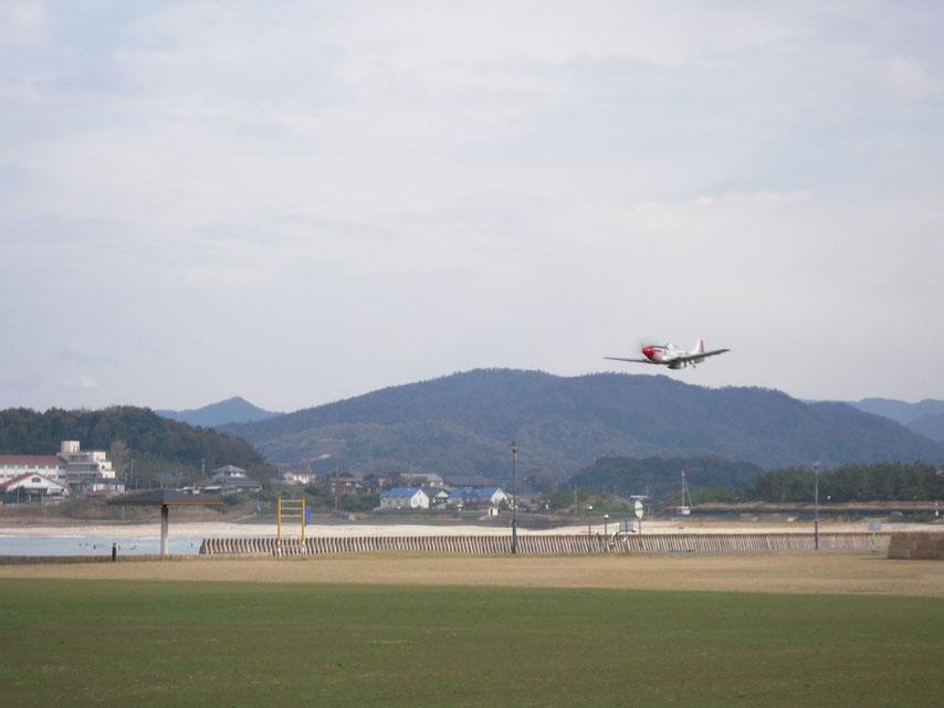 FMS P-51 Wingspan 1450mm   14.8V     初飛行!