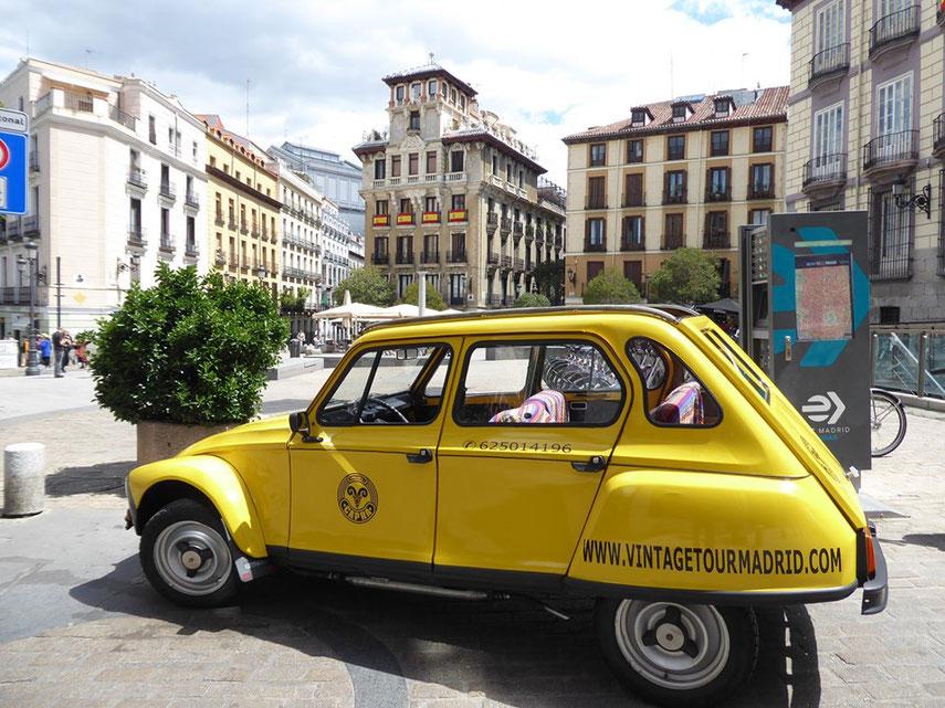 Tour en vintage car descapotable