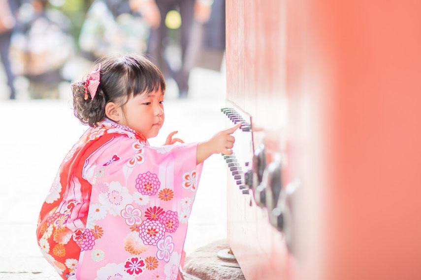 出張撮影 七五三 日枝神社 東京都