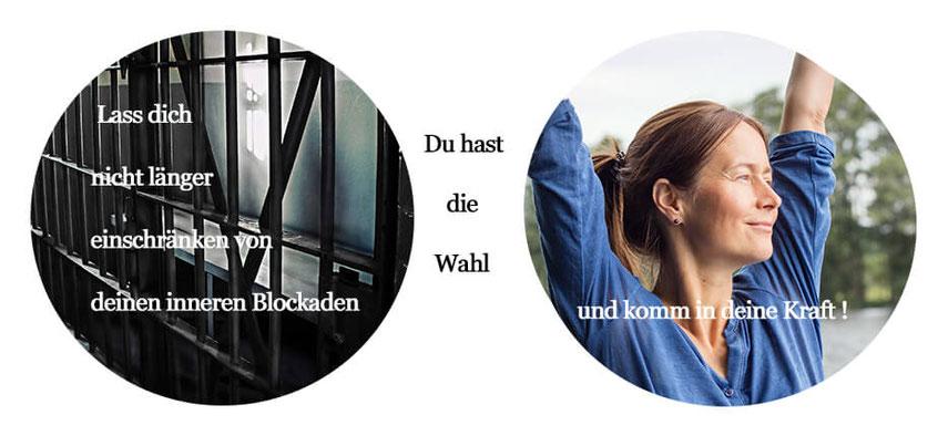 innere Blockaden auflösen, innere Kraft finden