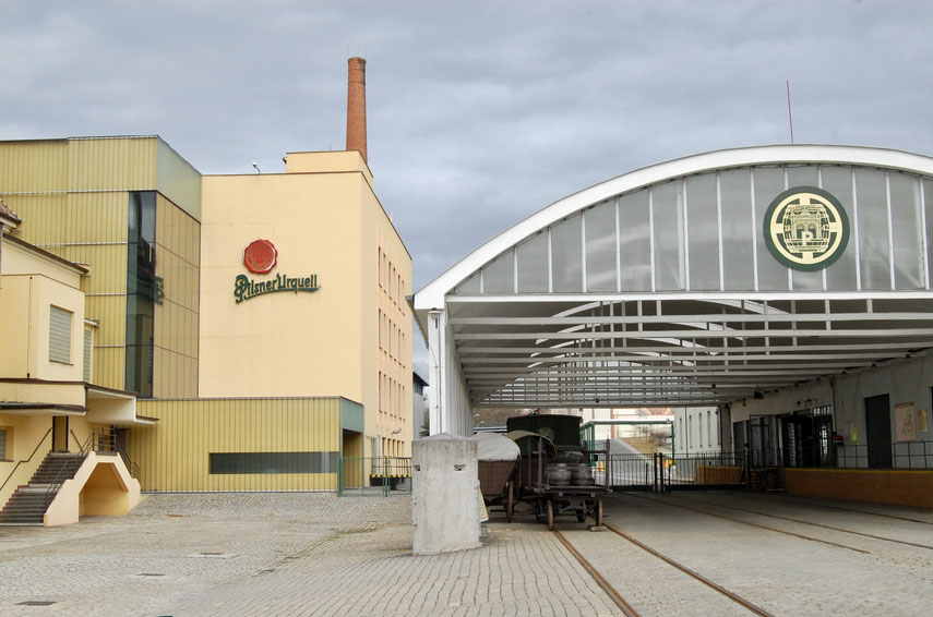 пивоварня в городе Пльзень