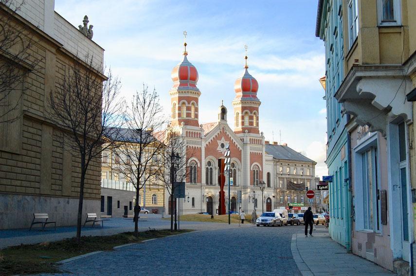 Пльзень, большая синагога