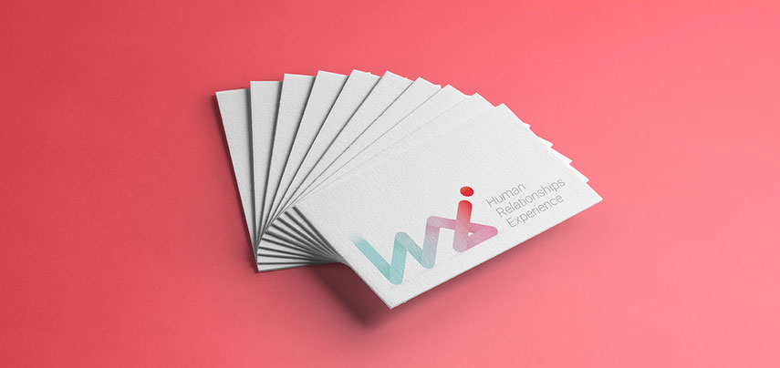 Human Relationships Experience business cards