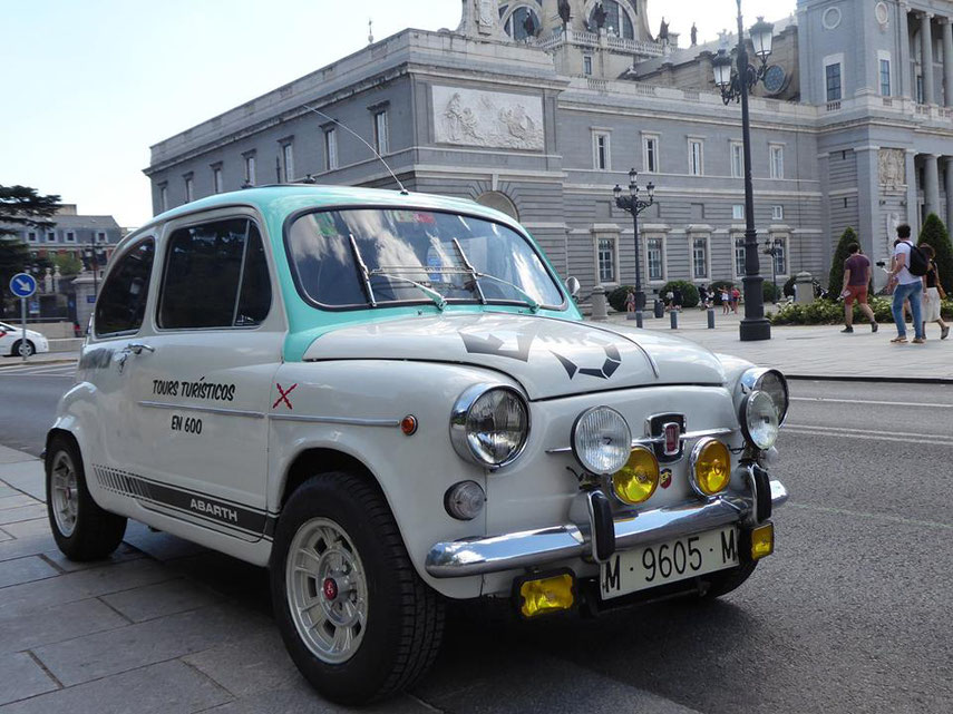 Abarth Seat 600 Rally Tour Madrid