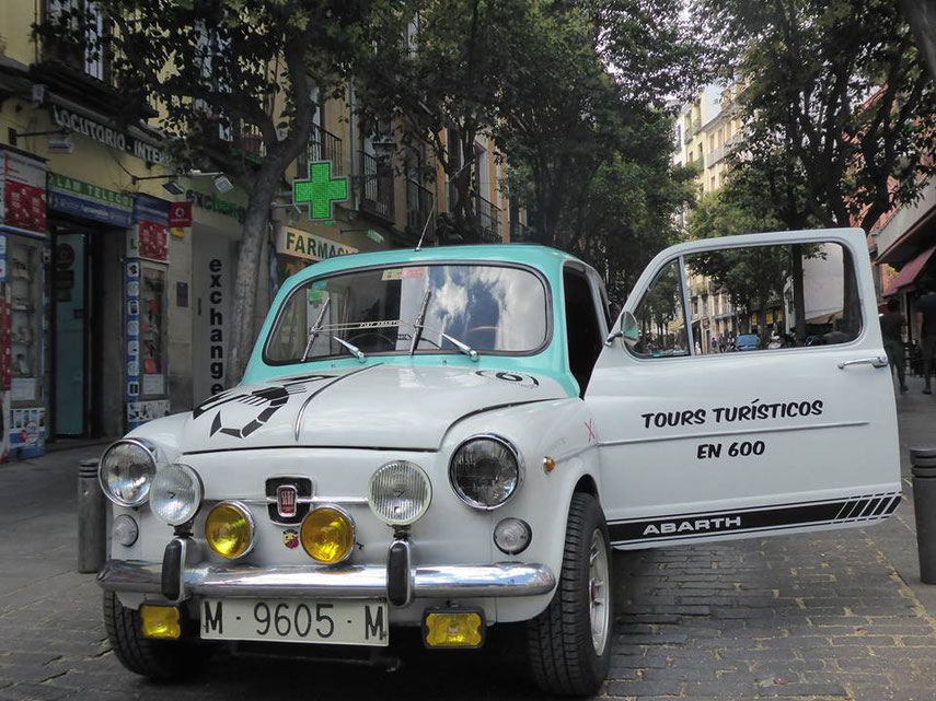 Abarth 600 tour Madrid