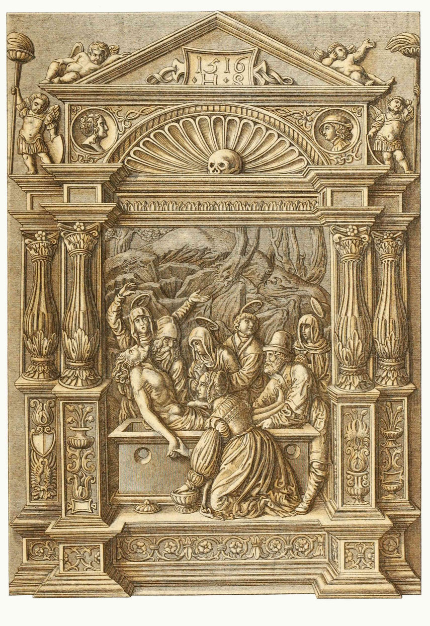 Schnitzwerk (Haut relief), aus Lindenholz