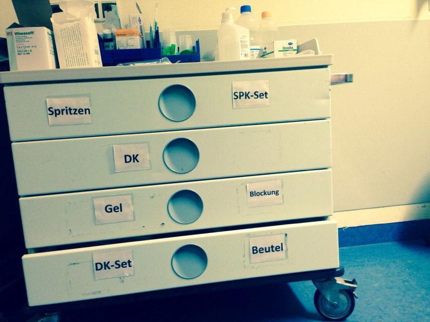 So gesehen in einem deutschen modernen Krankenhaus ...