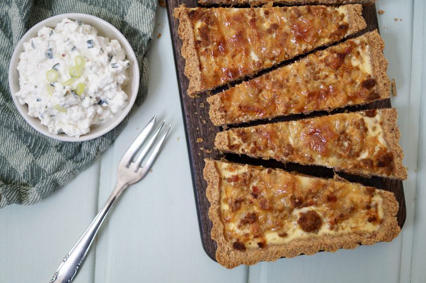 Sauerkraut-Hack-Tarte