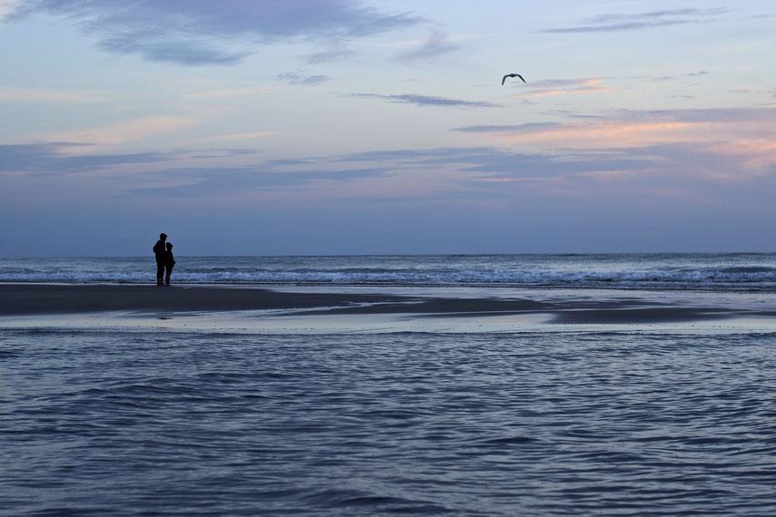 Sylt, Reise, Reisefotografie, Strand, Sonnenuntergang, Blaue Stunde