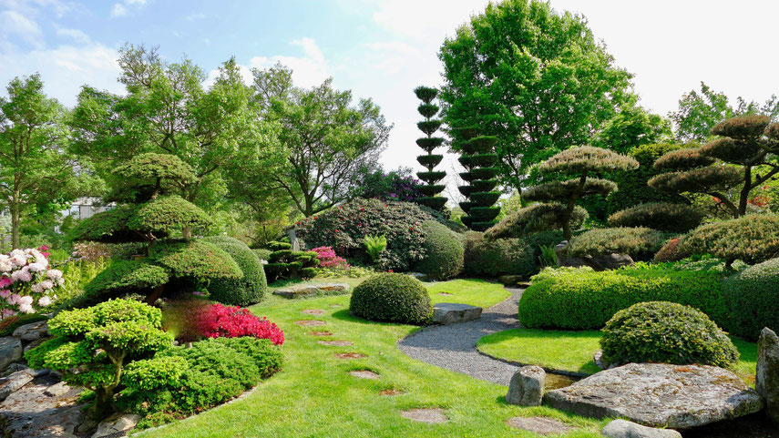 Japanischer Garten im Park der Gärten Bad Zwischenahn