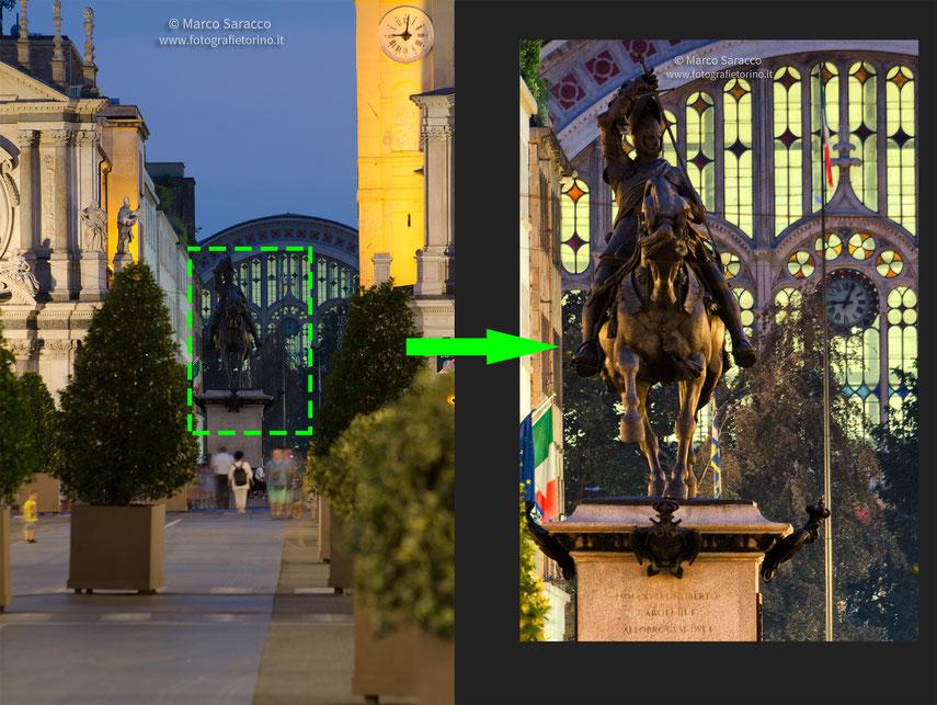 Qualcuno pensa ancora che la foto a destra sia un fotomontaggio?