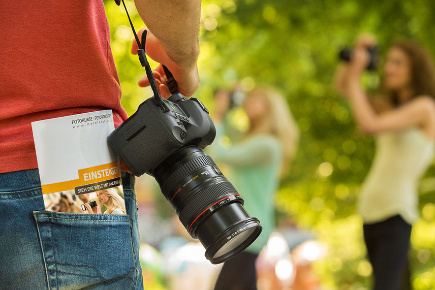Einsteiger Intensivkurs Booklet Kamera Teilnehmer