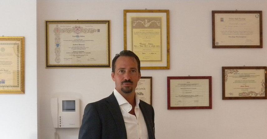 Dr.Andrea Ronconi Psicologo Specializzato in Psicoterapia Cognitivo-Comportamentale e Psicoterapia della Coppia