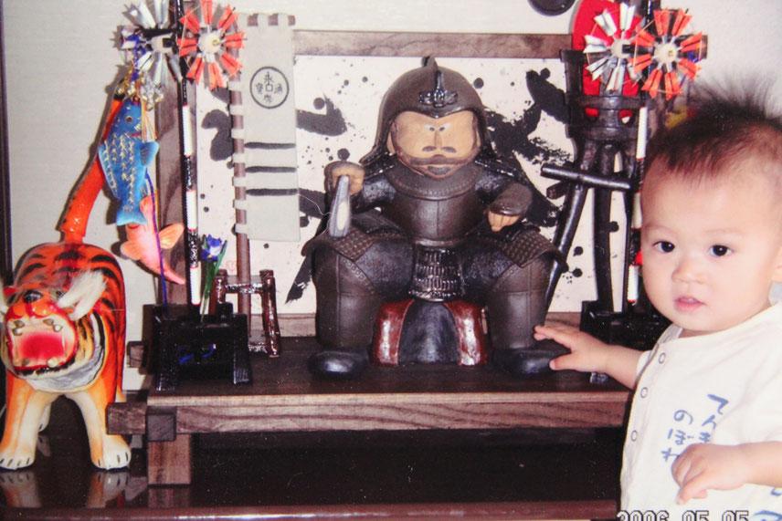 織田信長の陶人形