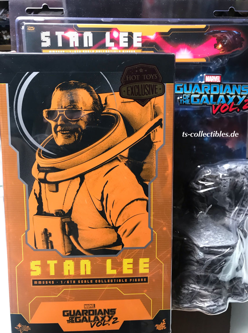 Stan Lee 2019 Toy Fair Exclusive 1/6 Guardians of the Galaxy Vol. 2 Marvel Movie Masterpiece Actionfigur 31cm Hot Toys Hot904768