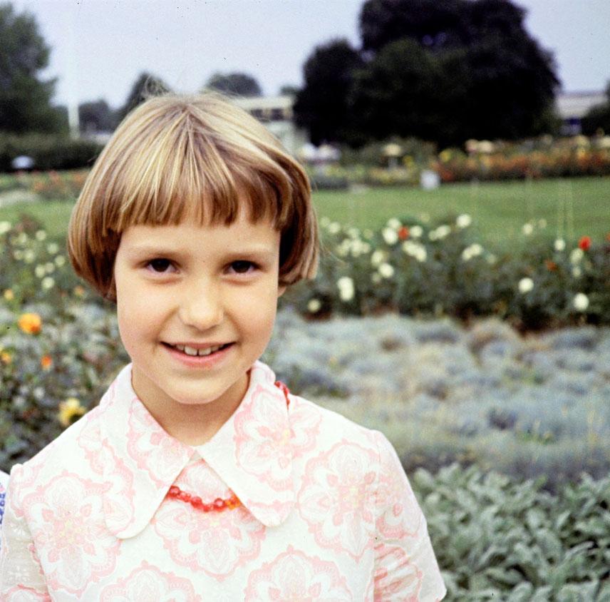 Christine selbst, Träume, leben, Kind, ca. 10 Jahre alt