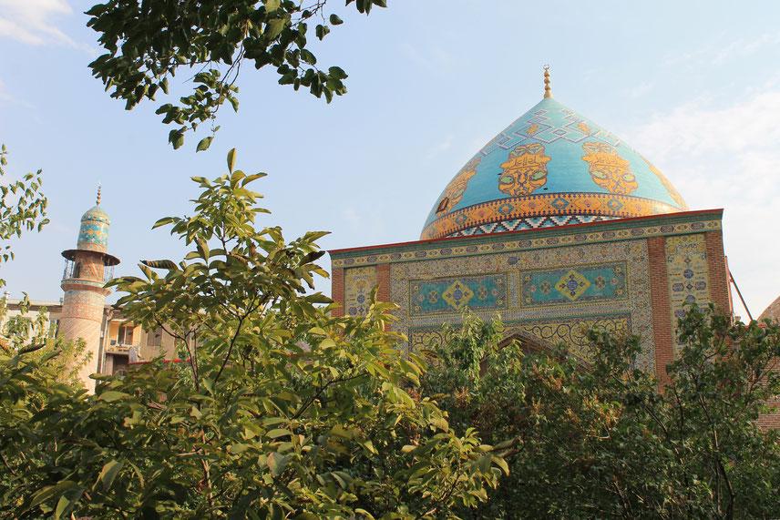 Die Blaue Moschee in Jerewan.