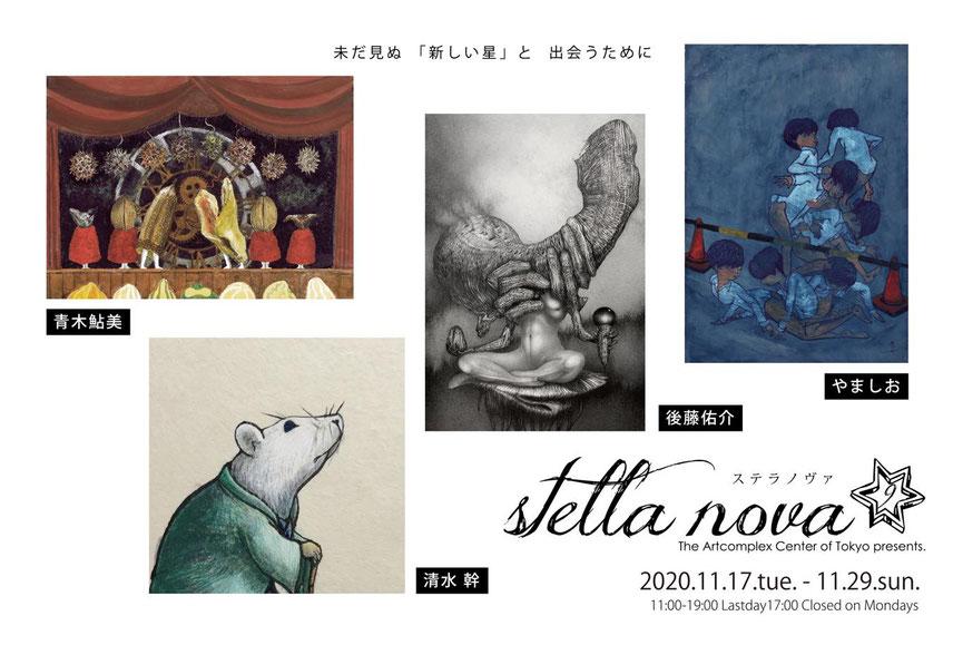 「公募展 stella nova 9(ステラノヴァ)」タイトル画像