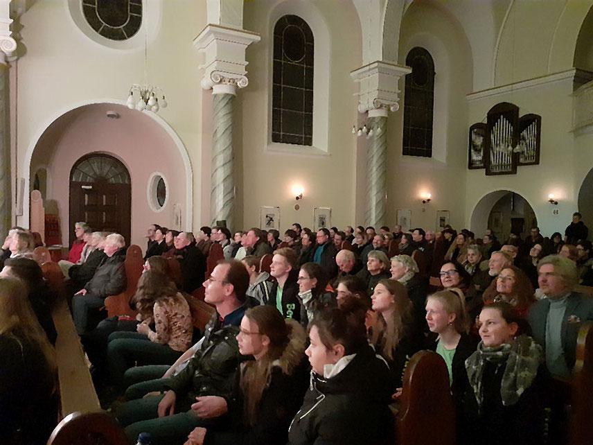 Besucher des Konzerts am 14.12.2019