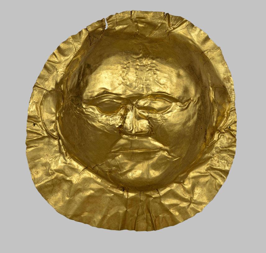 Goldmaske Mykene