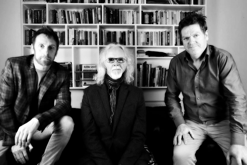 The trio behind Audio Shoot Unsigned. Roberto Forte, Philip Cullen & Declan Cody