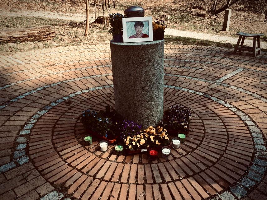 Trauerfeier im Friedwald