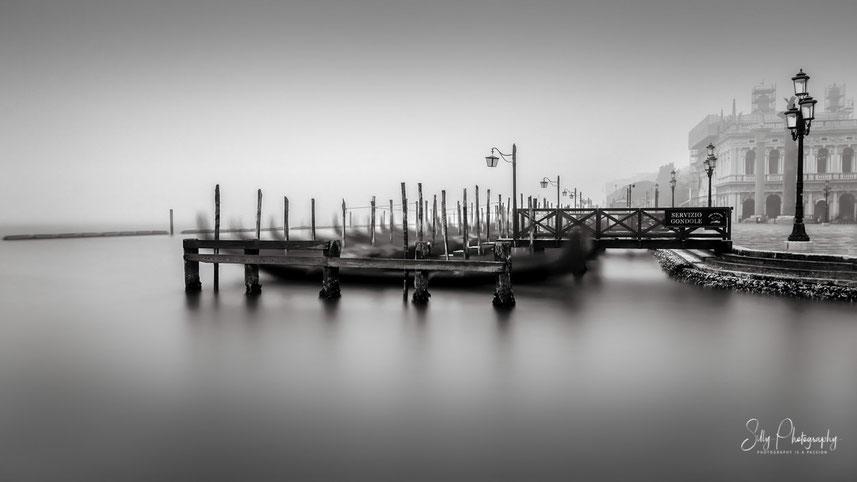 Venedig / Venezia / Piazza San Marco, Italien, Langzeitbelichtung, 2017, © Silly Photography
