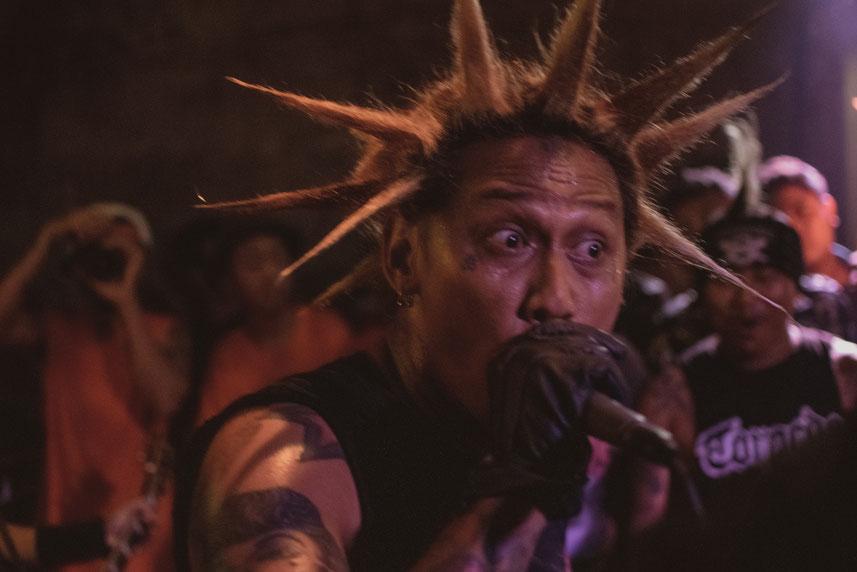 Punk Gig auf Bali