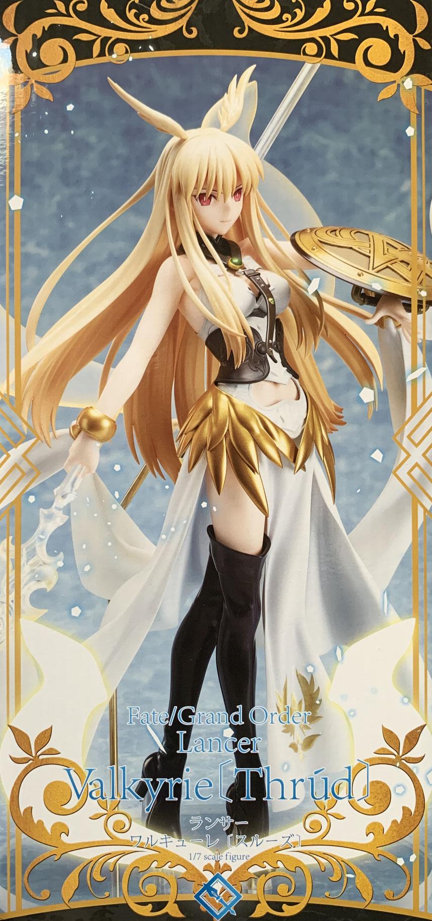 Lancer Valkyrie (Thrud) 1/7 Fate/Grand Order Anime Statue 27cm Aniplex