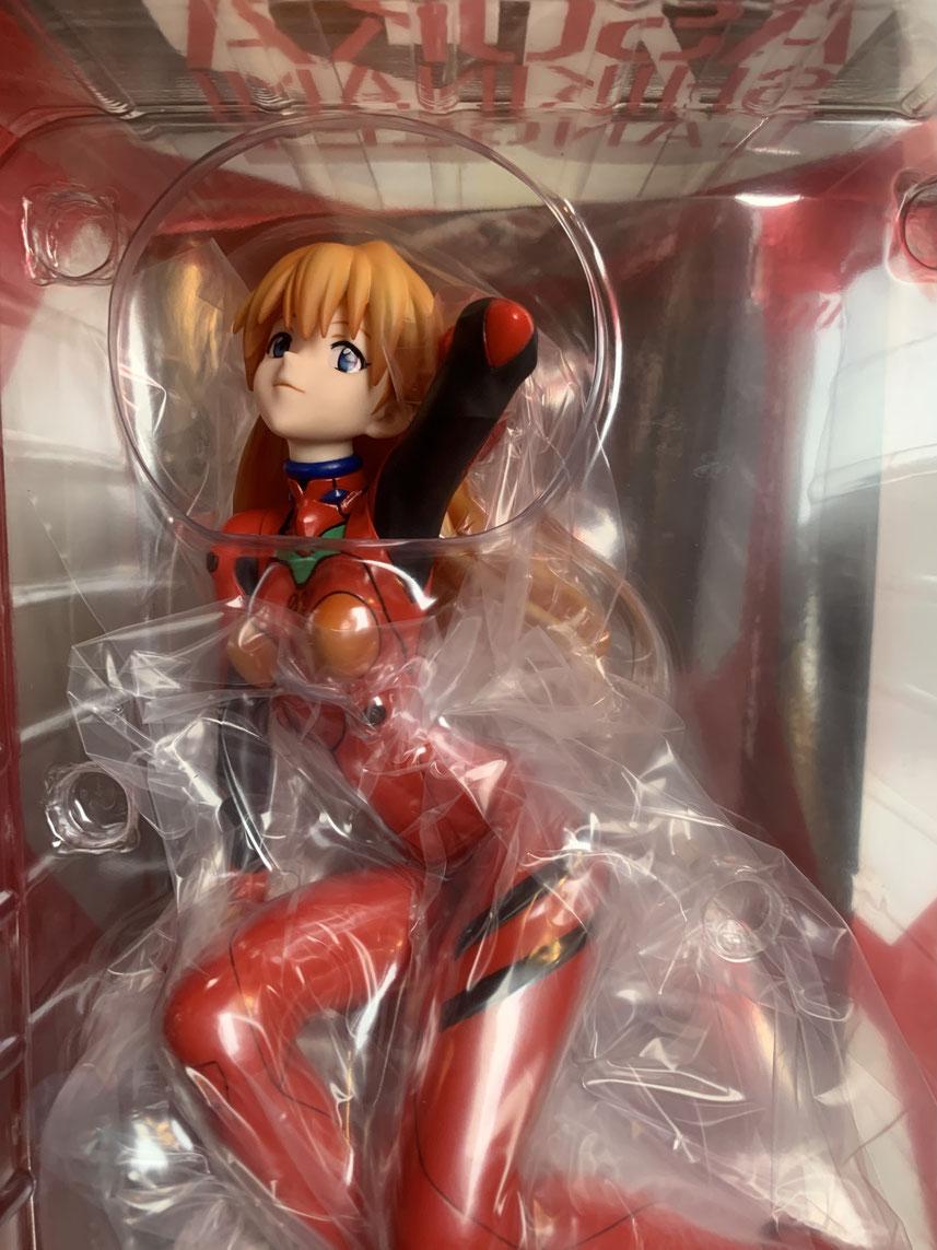 Asuka Langley Shikinami Plugsuit Version 1/6 Neon Genesis Evangelion Anime Statue 22cm Kotobukiya