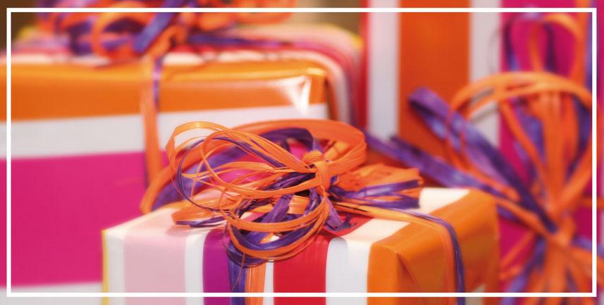 Geschenkideen für große Geschenke und kleine Geschenke. Geschenke kaufen bei Lebenswerte.