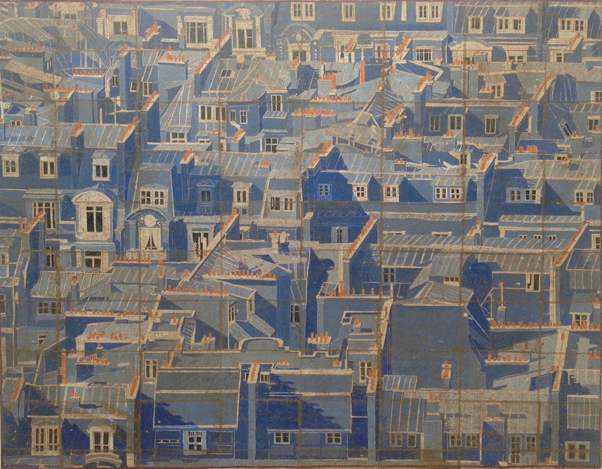Paris Bleu - Grand Panorama  - Quartier Rue de Breteuil
