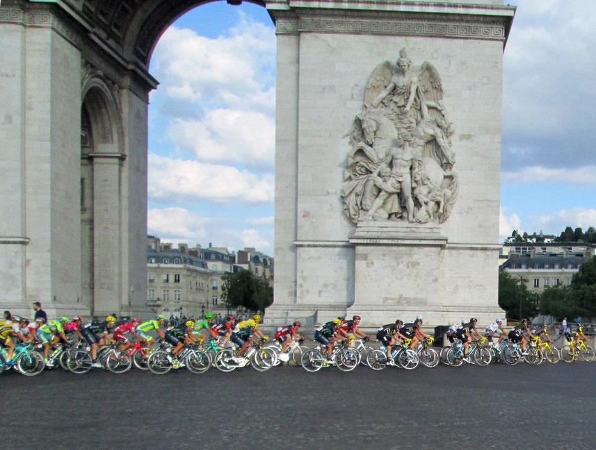 L'éternelle dernière étape du Tour de France