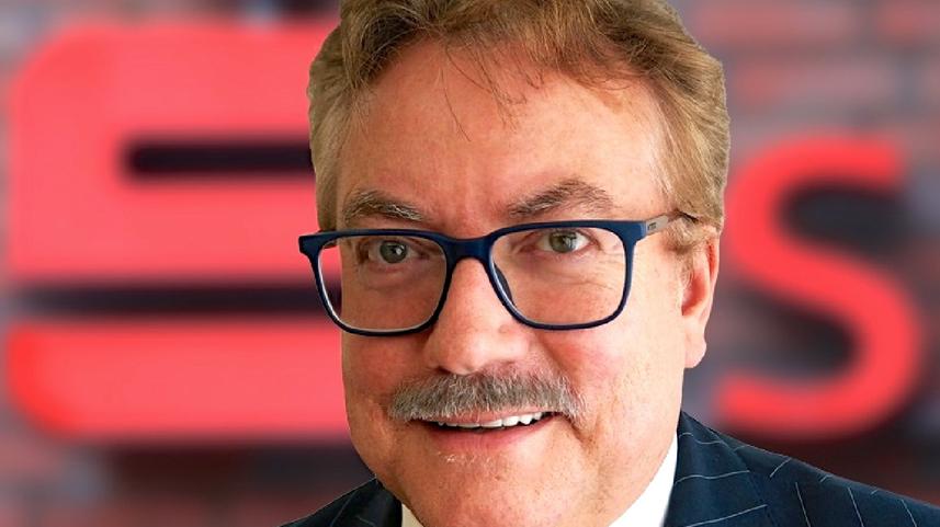 Andreas Fohrmann, Vorstandsvorsitzender der Sparkasse Südholstein, sieht sein Institut für die Zukunft gerüstet