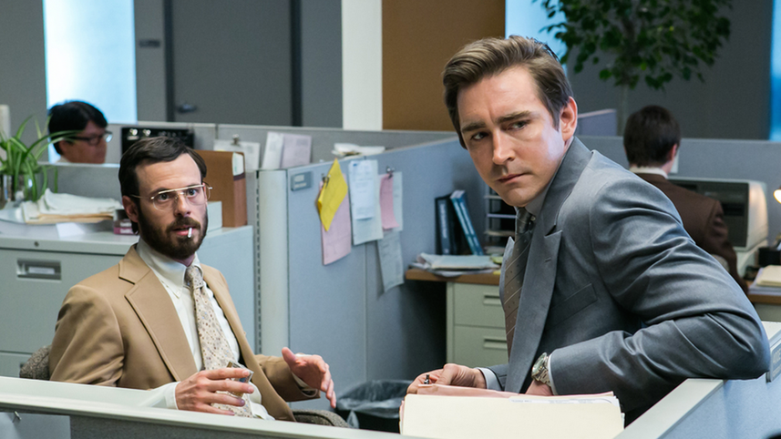 Gordon Clark und Joe Macmillan - Halt and Catch Fire Serien Review