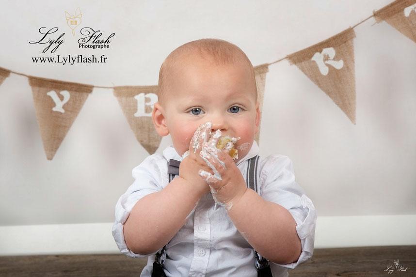 photographe bébé anniversaire var