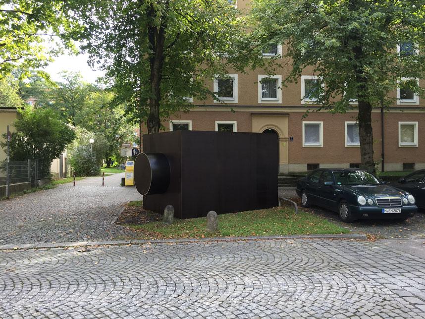 KAMERA, Außenskulptur, Foto: © Alexander Steig, VG Bild-Kunst, Bonn 2017