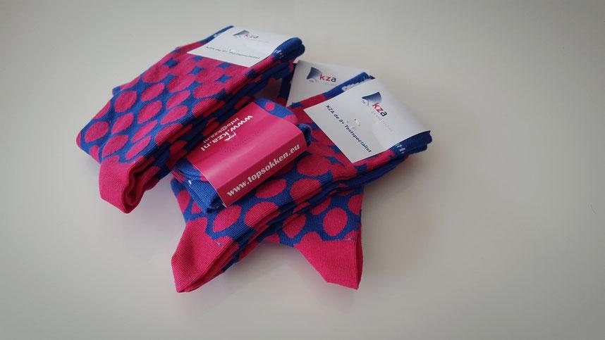 Sokken personaliseren Gepersonaliseerde sokken met logo
