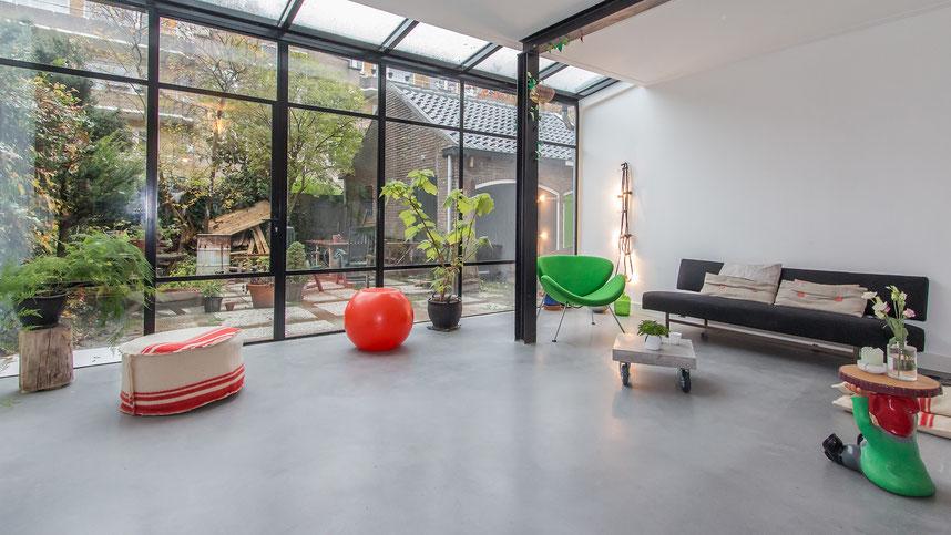 Gepolijste betonvloeren by Concraft Studio