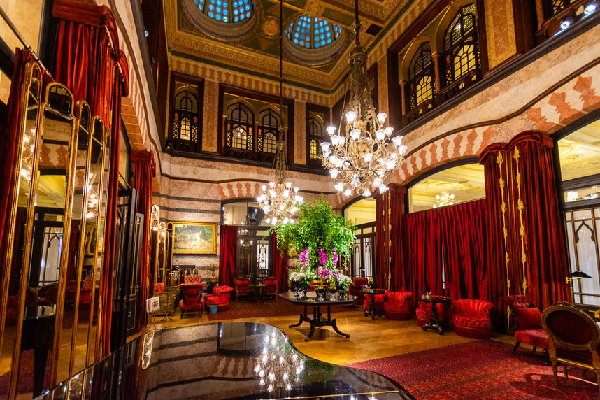 Pera Palace Hotel, istanbul (foto holiday-golightly.com)