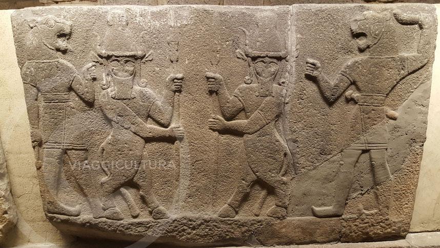 Ortóstato ittita proveniente dal sito di Karkemiš (Gaziantep), III-II millennio a.C. - Museo delle Civiltà Anatoliche, Ankara
