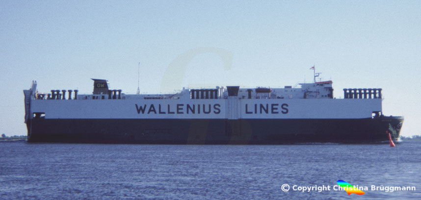 Car carrier MEDEA Elbe 1986