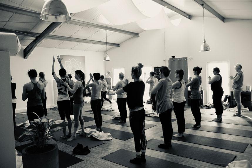 Ashtanga Yogakurse in Lüdinghausen und Datteln  - Mittwoch, Donnerstag und Sonntag morgen im Mysore Stil.